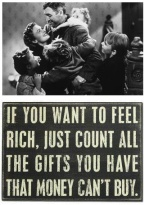 Its a wonderful life quote - rich